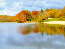 Sparkle Lake in the Fall #5