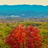 View of the Catskills Just West of Lake Minnewaska