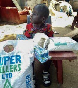Ekuju Bruno, Age 4, CP Chair, Morungatung Amuria Uganda, Cerebral Palsy