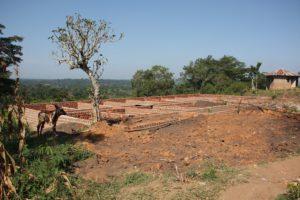 Ugandan Dormitory Started (Example)