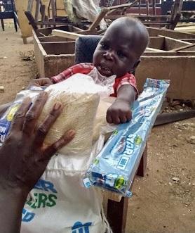Opio Elijah, Age 6 mo, CP Chair, Amuria Town, Amuria District, Uganda, Cerebral Palsy
