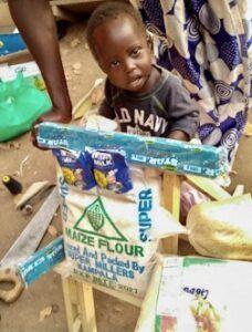 Samali Akitenge, Age 2, Pediatric Walker, Were Village, Amuria Town, Soroti District, Uganda, Cerebral Palsy