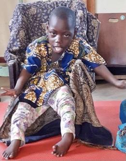 Shanitah, CP Chair, Kizirafumbi Village, Hoima District, Uganda, Cerebral Palsy