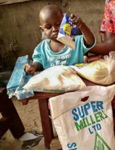 Elvis Shadrac, Age 9 mo, CP Chair, Mukura Village, Ngora Town, Soroti District, Uganda, Cerebral Palsy