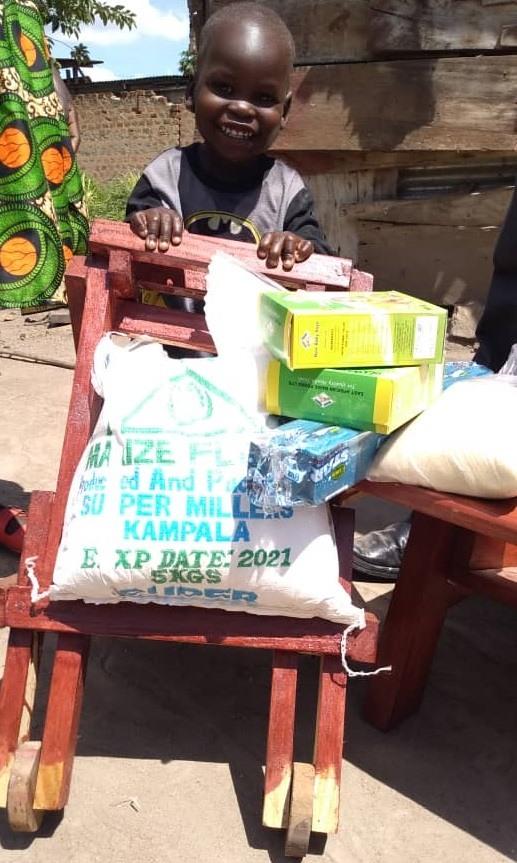 Bernard Elangu - 2 yrs old - Walker - Wera Village, Amuria District - Cerebral Palsy