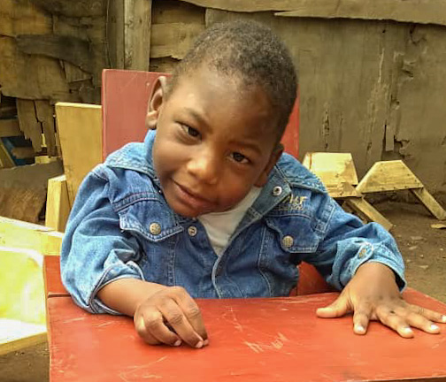 Abraham Ali, 4 years old, Soroti Town, Nakatuya Village