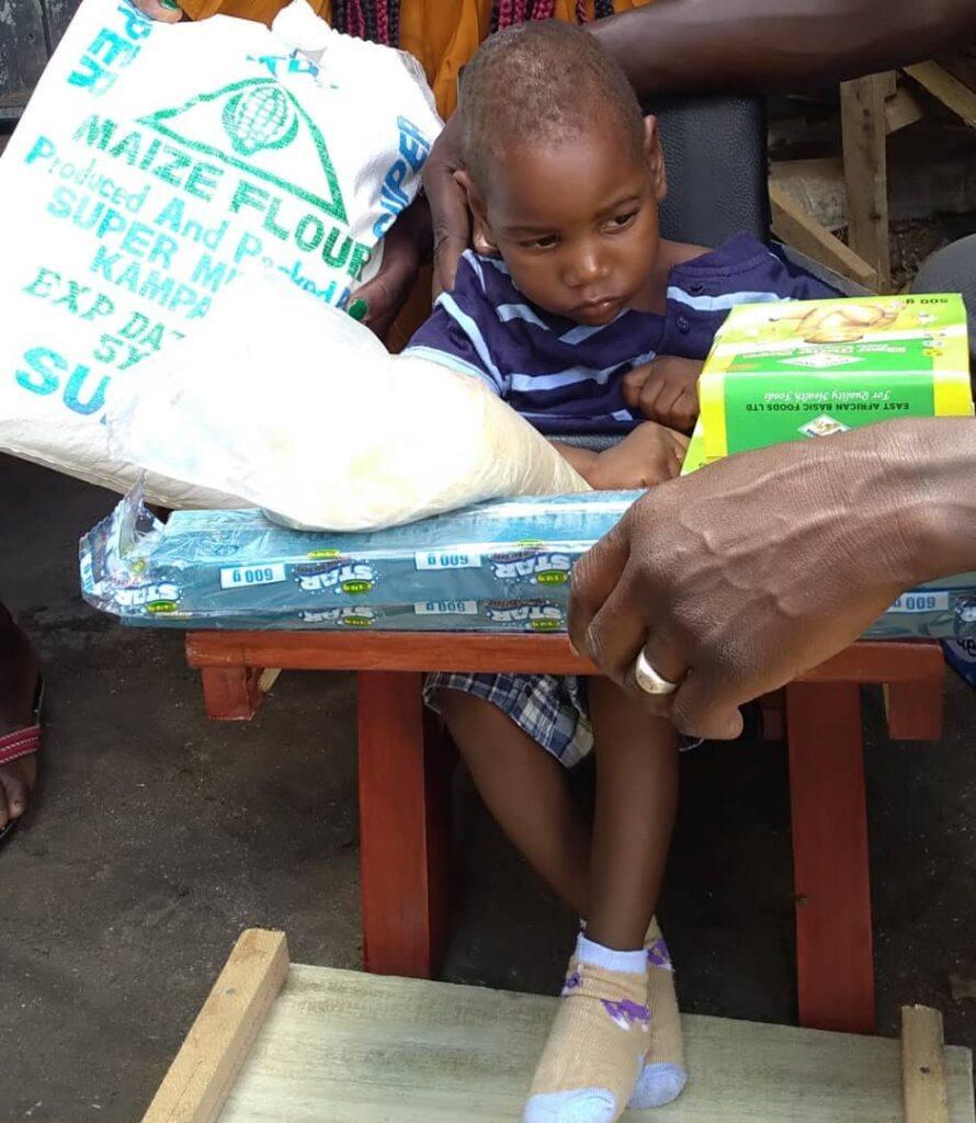Eudo Tom - 2 yrs old - CP Chair - Muruapesure Village, Soroti District - Cerebral Palsy