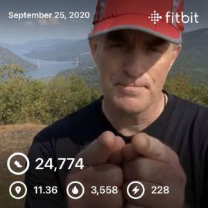 300 Mile Autumn - Hike for Duchenne VI, Leg 2 Results ~ 11 Miles