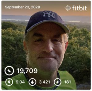 300 Mile Autumn - Hike for Duchenne VI, Leg 1 Results ~ 9 Miles