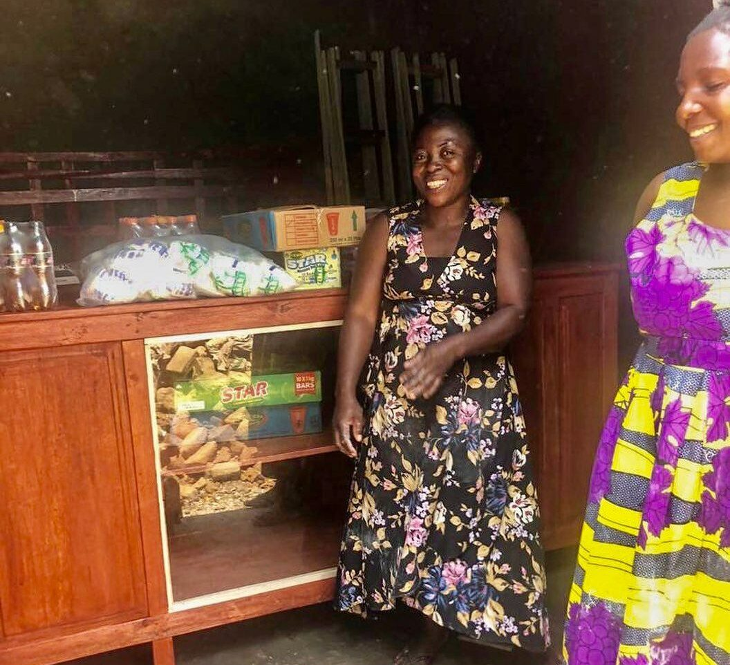 Momma Edna's Shop in Kasese Uganda