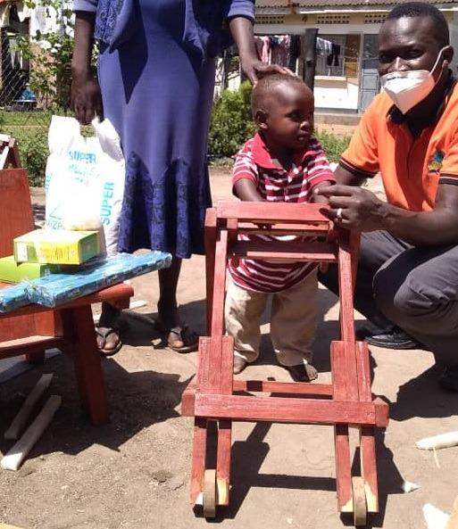 Okabe Joel - 4 yrs old - Walker - Asuret Village - Soroti District -Hemiplegic Cerebral Palsy
