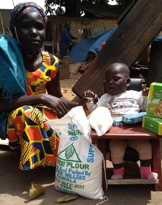 Okello Elvis Micheal - 11 months - CP Chair - Angerepo Village, Amuria District - Cerebral Palsy