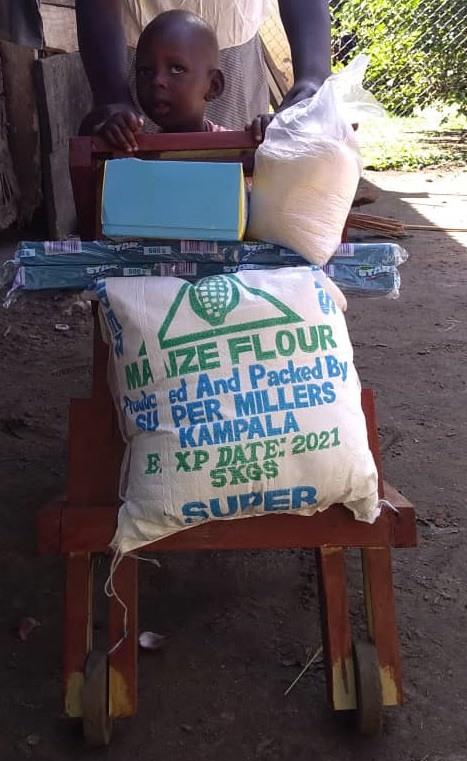 Opulot Keneth - 1.5 yrs old - Walker - Muruapesure Village, Soroti District - Hemiplegia Cerebral Palsy