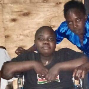 Philip Otieno, Age 15, Kisumu Village, Kenya, Duchenne Muscular Dystrophy