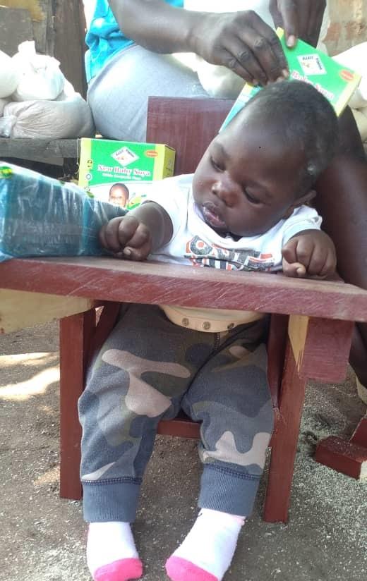 Echeweru Emmanuel, 9 months old, Soroti District, Kamuda Town