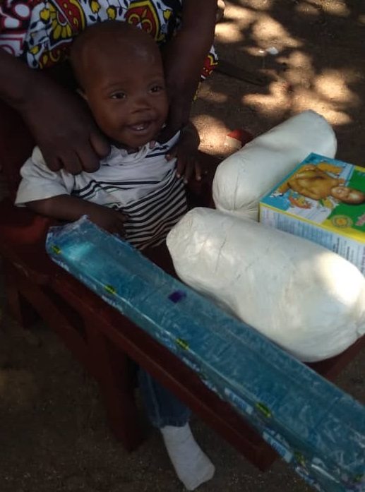 Abubarker Namusoso, Age 1 Year, Soroti District, Soroti Town, Teso Inn Village