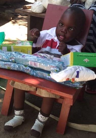 Ivan Adolu , Age 21 Months, Soroti District, Nakatuya Town
