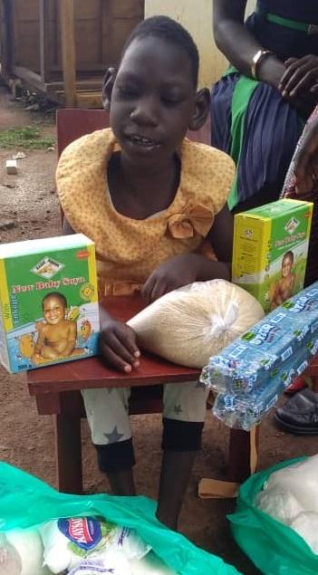 Mitchele Aijo, Age 6 Years, Soroti District, Asuret Town, Owolo Asuret Village