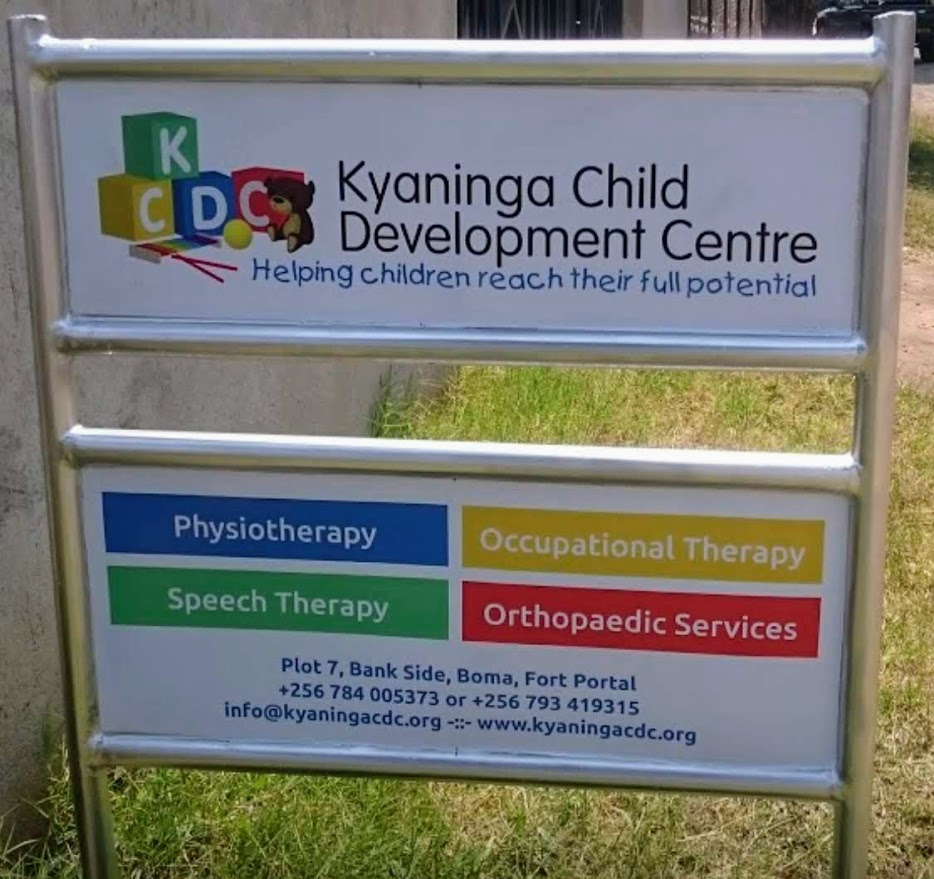 Kyaninga Child Development Centre in the front of the building