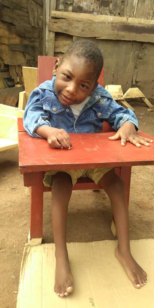 Abraham Ali, Age 4, Soroti District, Soroti Town, Nakatuya Village
