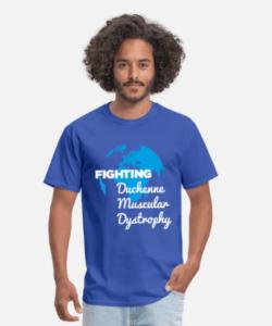 Fighting Duchenne Muscular Dystrophy Men's t-shirt