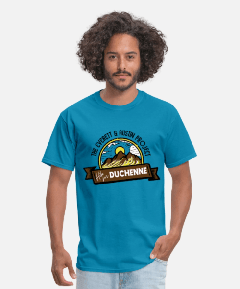 Hike for Duchenne Men's t-shirt