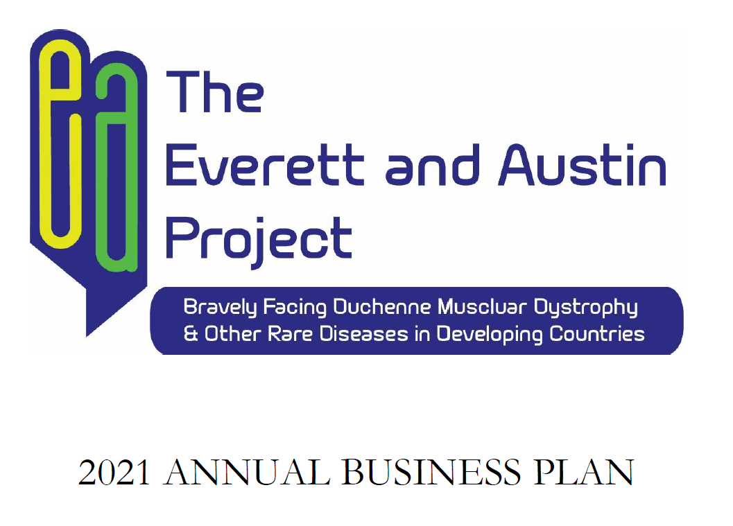 2021 business plan logo and title