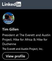 Tim Gillen LinkedIn Profile Banner